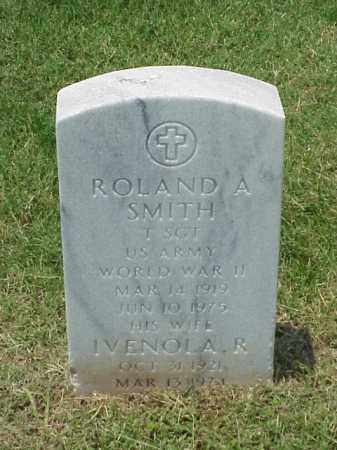 SMITH (VETERAN WWII), ROLAND A - Pulaski County, Arkansas | ROLAND A SMITH (VETERAN WWII) - Arkansas Gravestone Photos