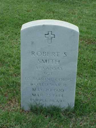 SMITH (VETERAN WWII), ROBERT S - Pulaski County, Arkansas   ROBERT S SMITH (VETERAN WWII) - Arkansas Gravestone Photos