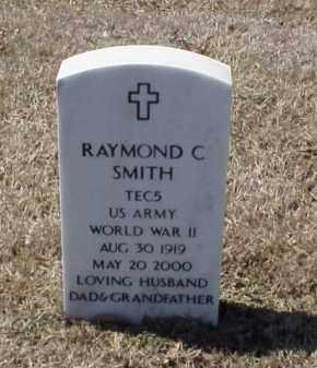 SMITH (VETERAN WWII), RAYMOND C - Pulaski County, Arkansas | RAYMOND C SMITH (VETERAN WWII) - Arkansas Gravestone Photos
