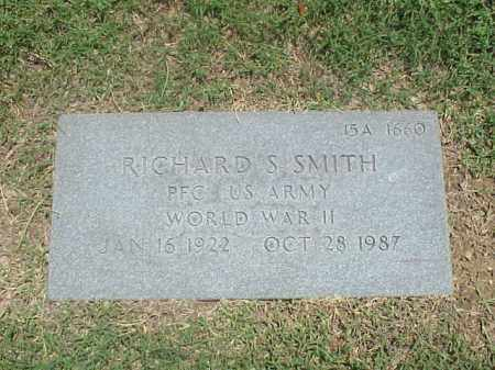 SMITH (VETERAN WWII), RICHARD S - Pulaski County, Arkansas | RICHARD S SMITH (VETERAN WWII) - Arkansas Gravestone Photos