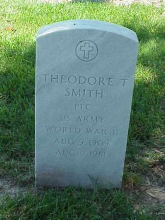 SMITH (VETERAN WWII), THEODORE T - Pulaski County, Arkansas   THEODORE T SMITH (VETERAN WWII) - Arkansas Gravestone Photos