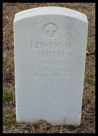 SMITH (VETERAN), EDWIN B - Pulaski County, Arkansas | EDWIN B SMITH (VETERAN) - Arkansas Gravestone Photos
