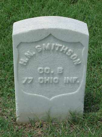 SMITHSON (VETERAN UNION), H N - Pulaski County, Arkansas   H N SMITHSON (VETERAN UNION) - Arkansas Gravestone Photos