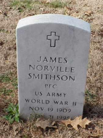 SMITHSON (VETERAN WWII), JAMES NORVILLE - Pulaski County, Arkansas | JAMES NORVILLE SMITHSON (VETERAN WWII) - Arkansas Gravestone Photos