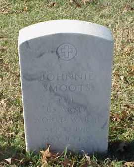 SMOOTS (VETERAN WWII), JOHNNIE - Pulaski County, Arkansas   JOHNNIE SMOOTS (VETERAN WWII) - Arkansas Gravestone Photos
