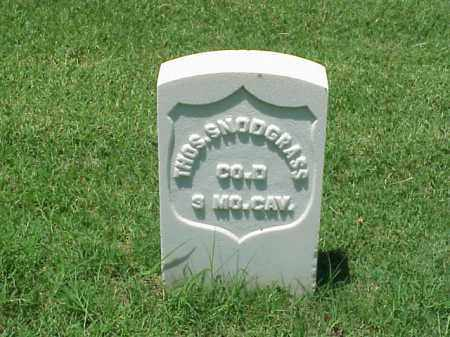 SNODGRASS (VETERAN UNION), THOMAS - Pulaski County, Arkansas | THOMAS SNODGRASS (VETERAN UNION) - Arkansas Gravestone Photos