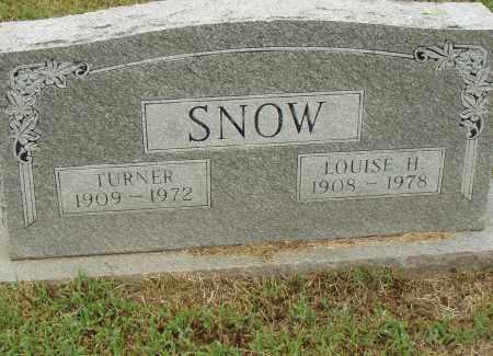 SNOW, LOUISE H. - Pulaski County, Arkansas | LOUISE H. SNOW - Arkansas Gravestone Photos