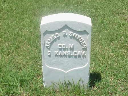 SNYDER (VETERAN UNION), JAMES P - Pulaski County, Arkansas | JAMES P SNYDER (VETERAN UNION) - Arkansas Gravestone Photos