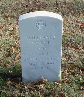 SOAST (VETERAN 2 WARS), WILLIAM J - Pulaski County, Arkansas | WILLIAM J SOAST (VETERAN 2 WARS) - Arkansas Gravestone Photos