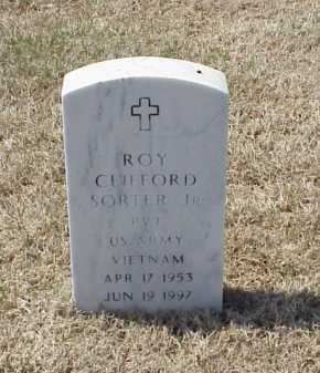 SORTER, JR (VETERAN VIET), ROY CLIFFORD - Pulaski County, Arkansas | ROY CLIFFORD SORTER, JR (VETERAN VIET) - Arkansas Gravestone Photos