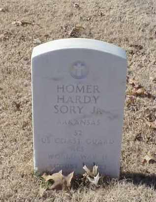 SORY, JR (VETERAN WWII), HOMER HARDY - Pulaski County, Arkansas | HOMER HARDY SORY, JR (VETERAN WWII) - Arkansas Gravestone Photos