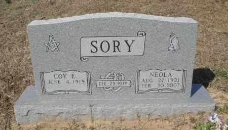 SORY, NEOLA - Pulaski County, Arkansas | NEOLA SORY - Arkansas Gravestone Photos