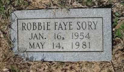 SORY, ROBBIE FAYE - Pulaski County, Arkansas | ROBBIE FAYE SORY - Arkansas Gravestone Photos
