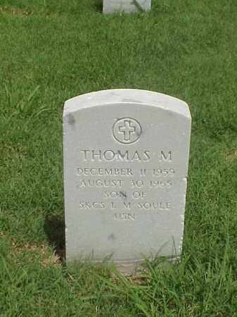 SOULE, THOMAS M - Pulaski County, Arkansas | THOMAS M SOULE - Arkansas Gravestone Photos