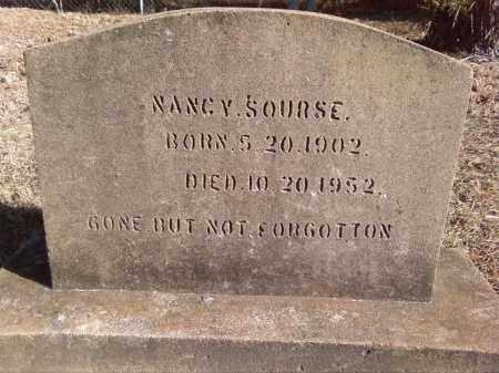 SOURSE, NANCY - Pulaski County, Arkansas | NANCY SOURSE - Arkansas Gravestone Photos
