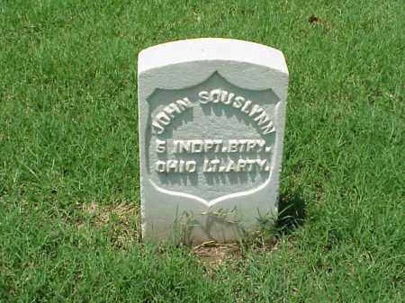 SOUSLYNN (VETERAN UNION), JOHN - Pulaski County, Arkansas | JOHN SOUSLYNN (VETERAN UNION) - Arkansas Gravestone Photos