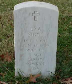 SOWARD, ESA SIBYL - Pulaski County, Arkansas   ESA SIBYL SOWARD - Arkansas Gravestone Photos