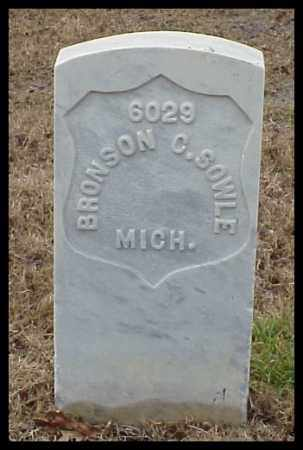 SOWLE (VETERAN UNION), BRONSON C - Pulaski County, Arkansas | BRONSON C SOWLE (VETERAN UNION) - Arkansas Gravestone Photos