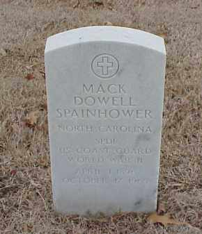 SPAINHOWER  (VETERAN WWII), MACK DOWELL - Pulaski County, Arkansas   MACK DOWELL SPAINHOWER  (VETERAN WWII) - Arkansas Gravestone Photos