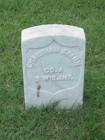 SPANN (VETERAN UNION), CHRISTIAN - Pulaski County, Arkansas | CHRISTIAN SPANN (VETERAN UNION) - Arkansas Gravestone Photos
