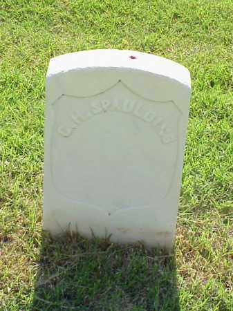 SPAULDING (VETERAN UNION), C H - Pulaski County, Arkansas | C H SPAULDING (VETERAN UNION) - Arkansas Gravestone Photos