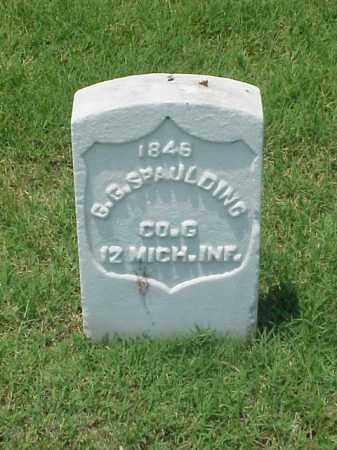 SPAULDING (VETERAN UNION), G G - Pulaski County, Arkansas | G G SPAULDING (VETERAN UNION) - Arkansas Gravestone Photos