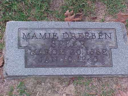 SPEAR, MAMIE - Pulaski County, Arkansas | MAMIE SPEAR - Arkansas Gravestone Photos
