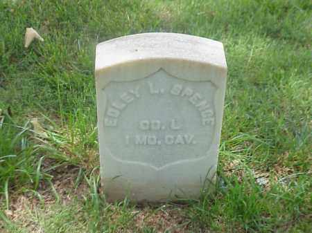 SPENCE (VETERAN UNION), EDLEY L - Pulaski County, Arkansas | EDLEY L SPENCE (VETERAN UNION) - Arkansas Gravestone Photos