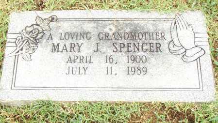 SPENCER, MARY J. - Pulaski County, Arkansas   MARY J. SPENCER - Arkansas Gravestone Photos