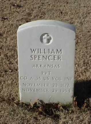 SPENCER (VETERAN SAW), WILLIAM - Pulaski County, Arkansas | WILLIAM SPENCER (VETERAN SAW) - Arkansas Gravestone Photos