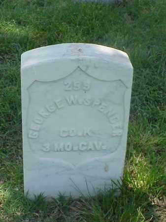 SPENCER (VETERAN UNION), GEORGE W - Pulaski County, Arkansas | GEORGE W SPENCER (VETERAN UNION) - Arkansas Gravestone Photos