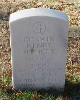 SPENCER (VETERAN WWII), CORWIN HENRY - Pulaski County, Arkansas   CORWIN HENRY SPENCER (VETERAN WWII) - Arkansas Gravestone Photos