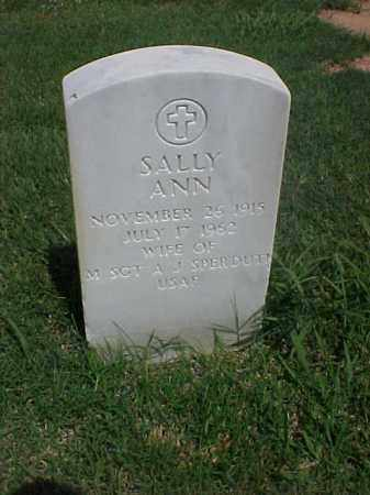 SPERDUTI, SALLY ANN - Pulaski County, Arkansas | SALLY ANN SPERDUTI - Arkansas Gravestone Photos