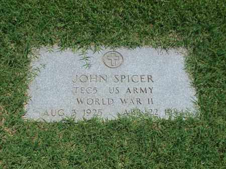 SPICER (VETERAN WWII), JOHN - Pulaski County, Arkansas | JOHN SPICER (VETERAN WWII) - Arkansas Gravestone Photos