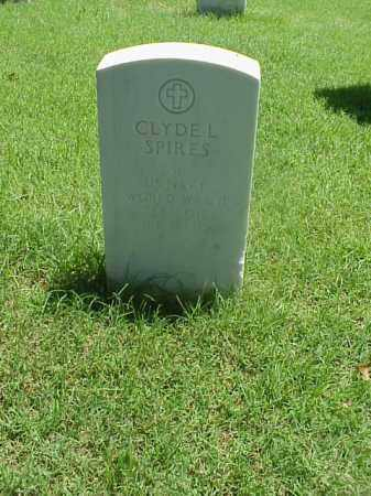 SPIRES (VETERAN WWII), CLYDE L - Pulaski County, Arkansas | CLYDE L SPIRES (VETERAN WWII) - Arkansas Gravestone Photos