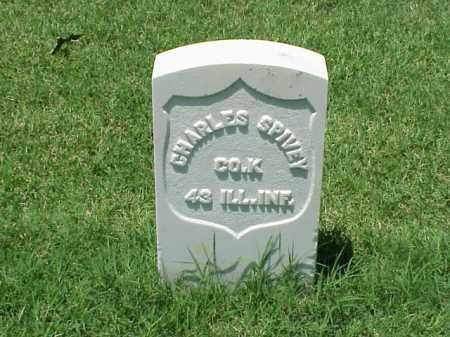 SPIVEY (VETERAN UNION), CHARLES - Pulaski County, Arkansas | CHARLES SPIVEY (VETERAN UNION) - Arkansas Gravestone Photos