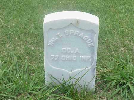 SPRAGUE (VETERAN UNION), WILLIAM T - Pulaski County, Arkansas | WILLIAM T SPRAGUE (VETERAN UNION) - Arkansas Gravestone Photos