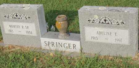 SPRINGER, ADELINE E. - Pulaski County, Arkansas   ADELINE E. SPRINGER - Arkansas Gravestone Photos