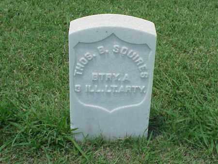 SQUIRES (VETERAN UNION), THOMAS B - Pulaski County, Arkansas | THOMAS B SQUIRES (VETERAN UNION) - Arkansas Gravestone Photos