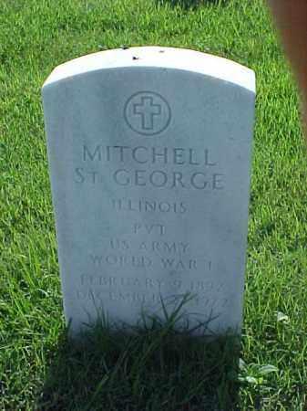 ST GEORGE (VETERAN WWI), MITCHELL - Pulaski County, Arkansas | MITCHELL ST GEORGE (VETERAN WWI) - Arkansas Gravestone Photos