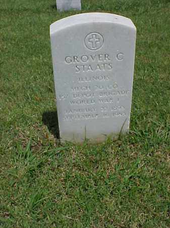 STAATS (VETERAN WWI), GROVER C - Pulaski County, Arkansas | GROVER C STAATS (VETERAN WWI) - Arkansas Gravestone Photos