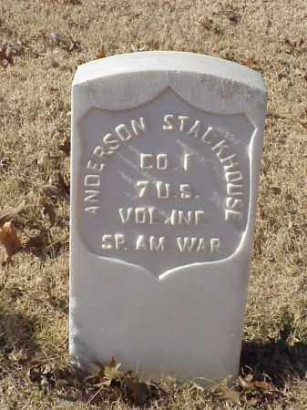 STACKHOUSE (VETERAN SAW), ANDERSON - Pulaski County, Arkansas | ANDERSON STACKHOUSE (VETERAN SAW) - Arkansas Gravestone Photos