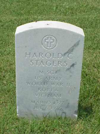 STAGERS (VETERAN 3 WARS), HAROLD C - Pulaski County, Arkansas   HAROLD C STAGERS (VETERAN 3 WARS) - Arkansas Gravestone Photos