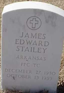 STAILEY  (VETERAN KOR), JAMES EDWARD - Pulaski County, Arkansas   JAMES EDWARD STAILEY  (VETERAN KOR) - Arkansas Gravestone Photos