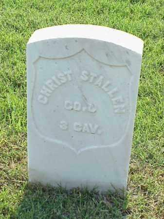STALLEN (VETERAN UNION), CHRIST - Pulaski County, Arkansas | CHRIST STALLEN (VETERAN UNION) - Arkansas Gravestone Photos