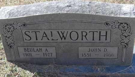 STALWORTH, BEULAH A - Pulaski County, Arkansas | BEULAH A STALWORTH - Arkansas Gravestone Photos