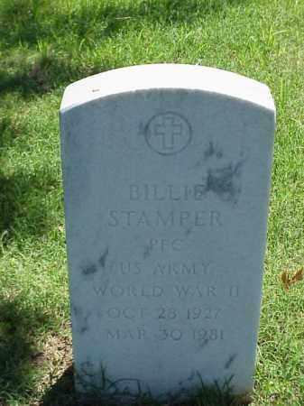 STAMPER (VETERAN WWII), BILLIE - Pulaski County, Arkansas   BILLIE STAMPER (VETERAN WWII) - Arkansas Gravestone Photos