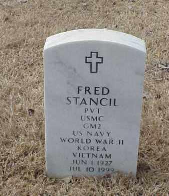 STANCIL  (VETERAN 3 WARS), FRED - Pulaski County, Arkansas | FRED STANCIL  (VETERAN 3 WARS) - Arkansas Gravestone Photos