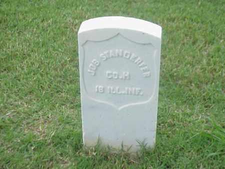 STANDERFER (VETERAN UNION), JOB - Pulaski County, Arkansas | JOB STANDERFER (VETERAN UNION) - Arkansas Gravestone Photos