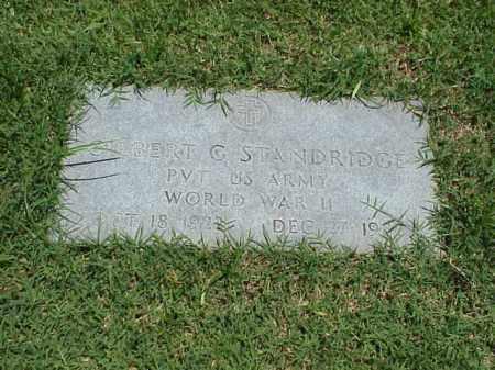 STANDRIDGE (VETERAN WWII), GILBERT G - Pulaski County, Arkansas | GILBERT G STANDRIDGE (VETERAN WWII) - Arkansas Gravestone Photos